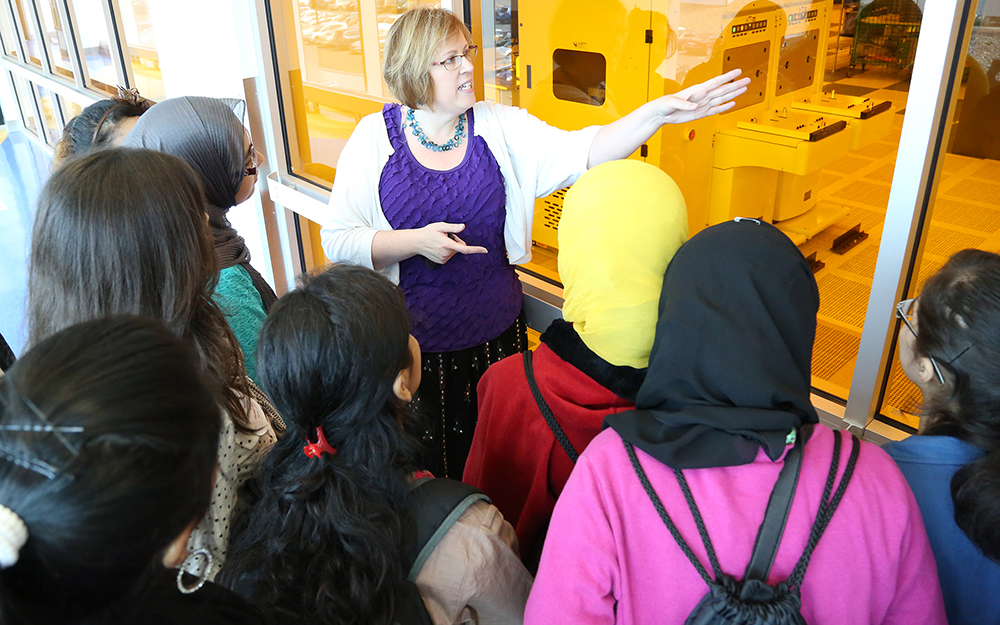 School Visit to SUNY Poly