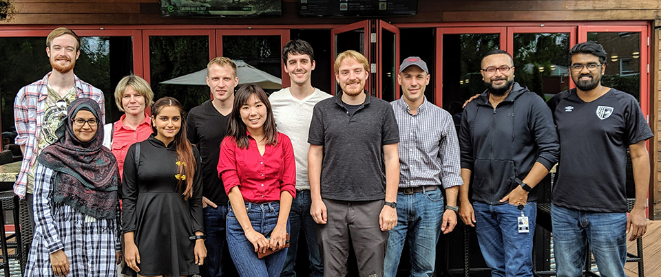 Professor Nate Cady's Research Group