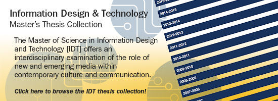 College of IDT Thesis collection