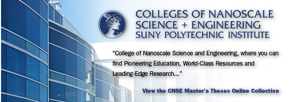 CNSE Master's Thesis Collection