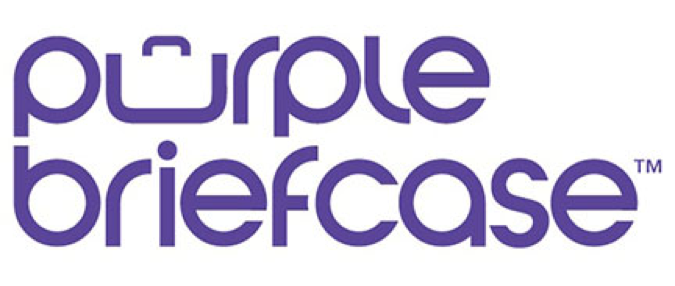 Purple Briefcase logo
