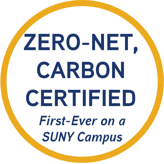 Zero-Net, Carbon Certified - First-Ever on a SUNY Campus