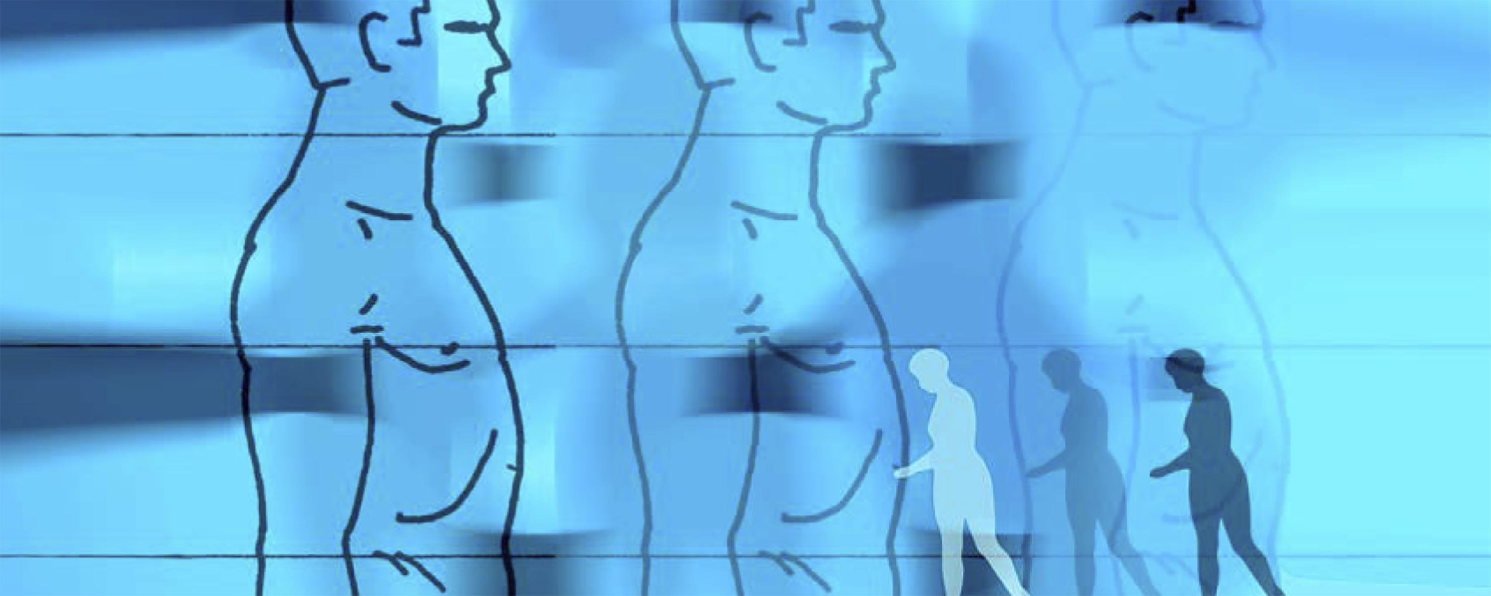 Illustrative Photos Of Human Body Outlines For Community And Behavioral  Health
