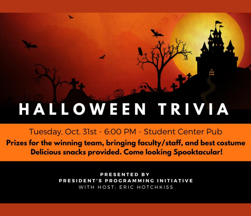 Halloween Trivia - Oct. 31 at 6 pm | SUNY Polytechnic Institute