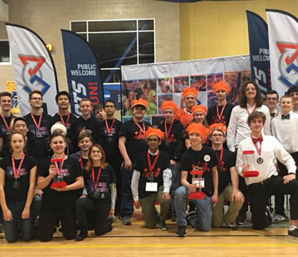 Eagle News: FFL First Tech Team Wins Regional Competition