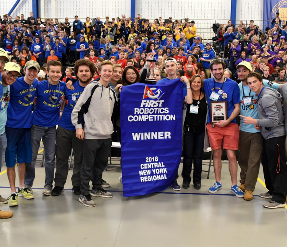Suny Poly S Own Frc Robotics Team Headed To International