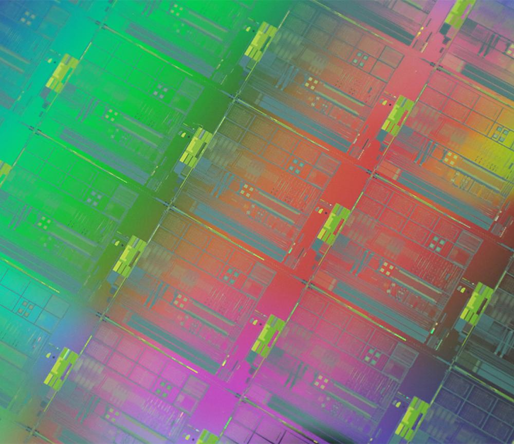 Integrated photonics wafer