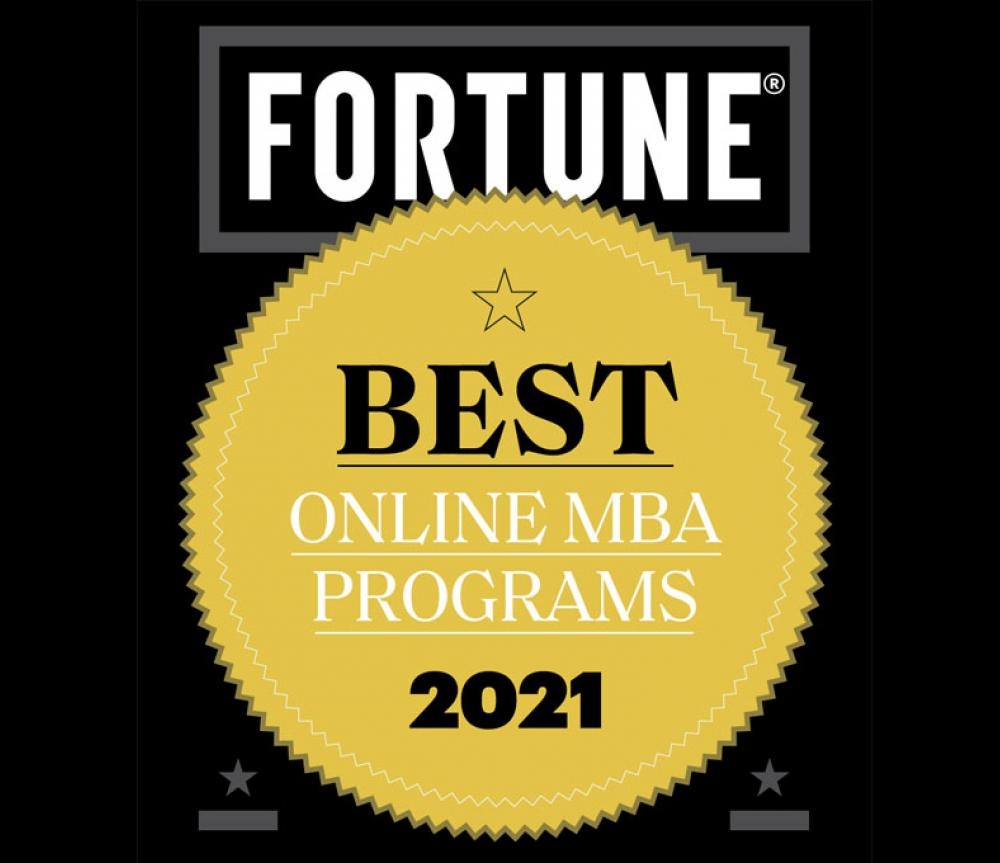Fortune Online MBA Ranking Badge