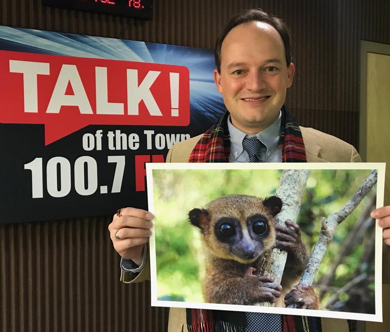 McLain on WUTQ about lemur 800x680