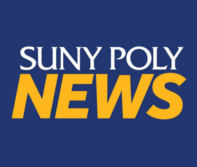 SUNY Poly News graphic